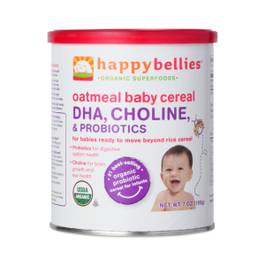 Happy Bellies Organic Oatmeal Baby Cereal