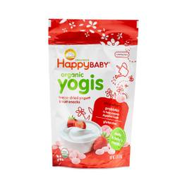 Happy Baby Organic Yogurt & Fruit Snacks, Strawberry