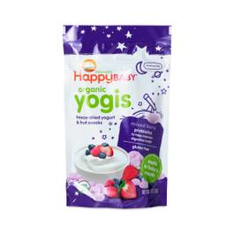 Happy Yogis Organic Yogurt Snacks, Mixed Berry