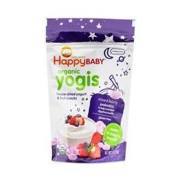 Happy Baby Organic Yogurt & Fruit Snacks, Mixed Berry