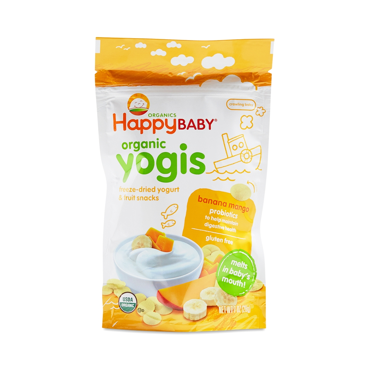 Happy Family Thrive Market Baby Organic Puffs Combo C Strawberry Beet Sweet Potato