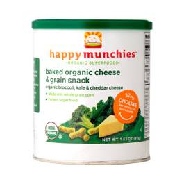 Happy Munchies: Broccoli, Kale & Cheddar Cheese Snack