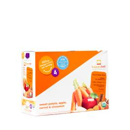 Happy Tot Organic Superfoods Sweet Potato, Carrot, Apple & Cinnamon