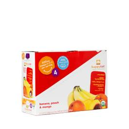 Happy Tots Organic Superfoods, Banana, Peach & Mango