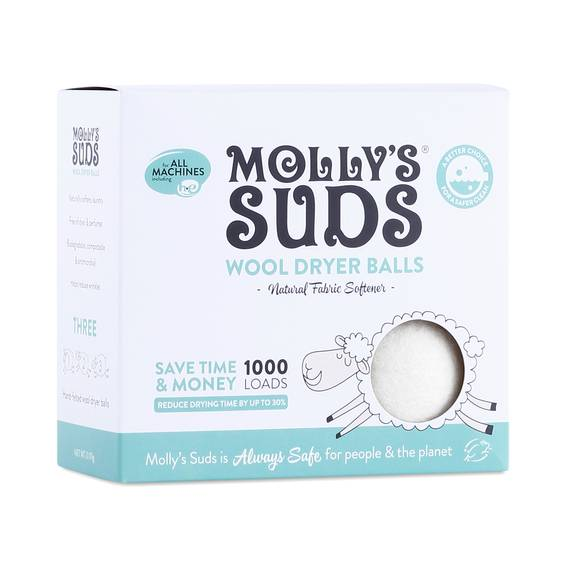 100 Wool Dryer Balls By Molly S Suds Thrive Market