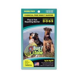 Dog Flea / Tick Insect Barrier, Chemical-Free, Double Pack