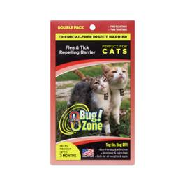 Cat Flea / Tick Insect Barrier, Chemical-Free, Double Pack