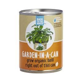 Basil: Garden in a Can
