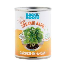 Basil: Garden in a Can