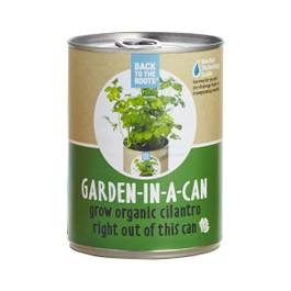Cilantro: Garden in a Can