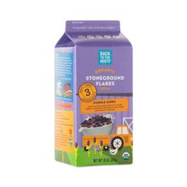 Organic Purple Corn Flakes