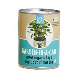 Sage: Garden in a Can