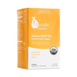 Nausea Relief Tea, Organic Citrus Ginger