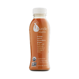 Orange Carrot Strawberry Ginger Juice for Expecting & New Moms
