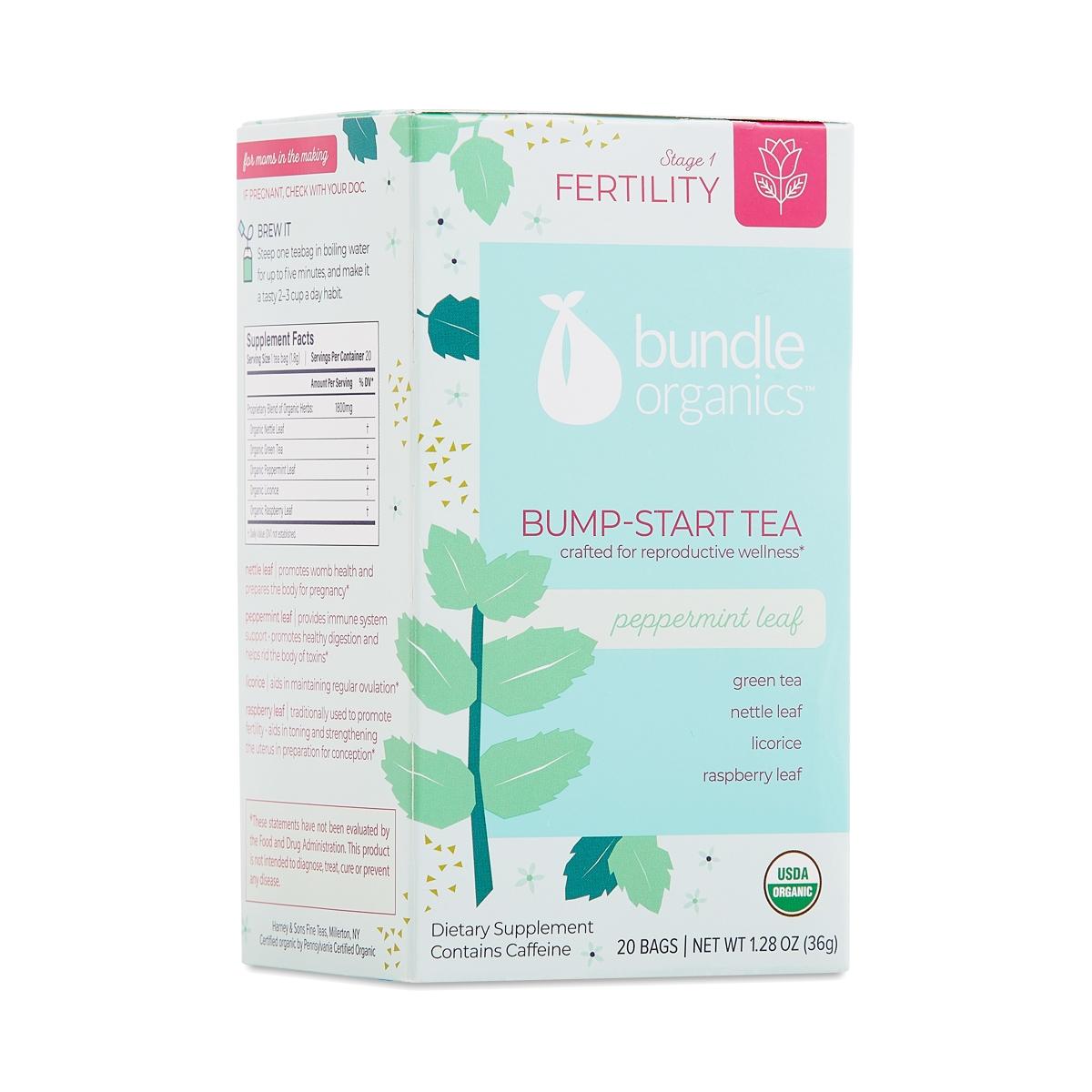 Bump Start Tea, Peppermint Leaf