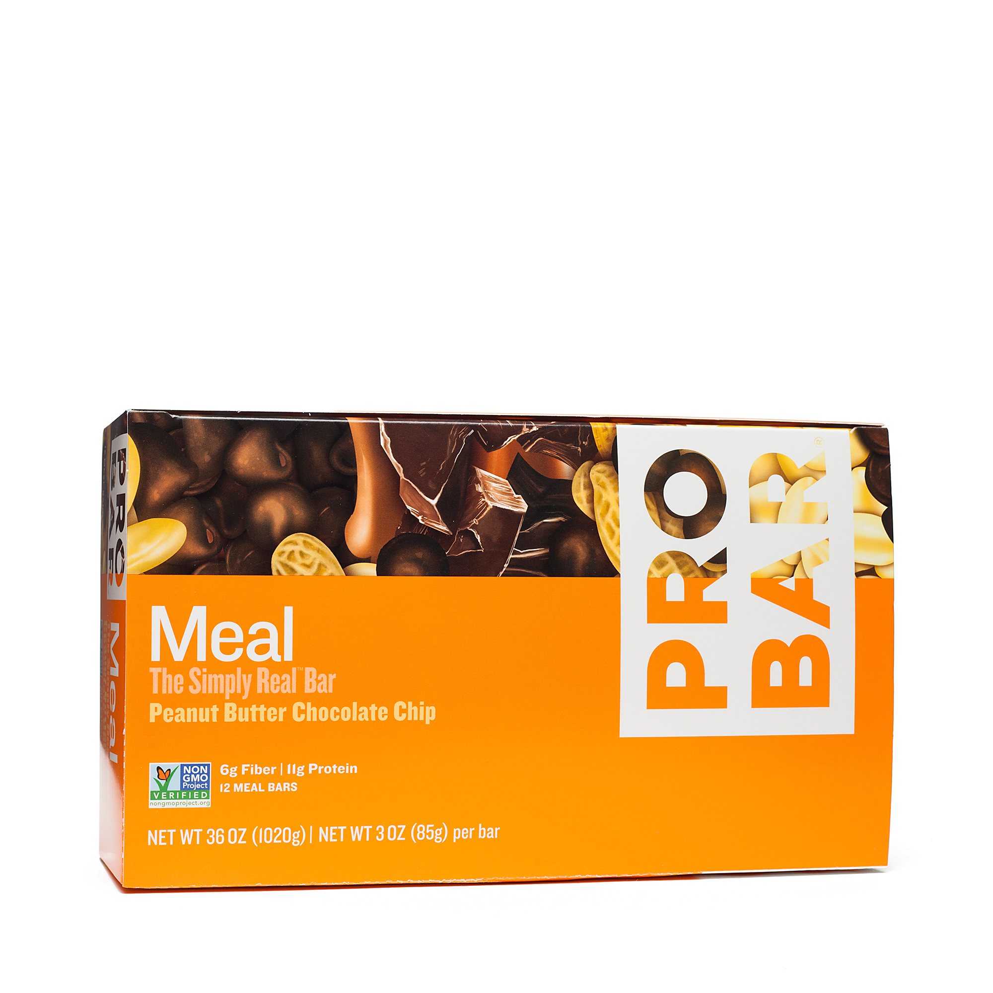 ProBar Peanut Butter Chocolate Chip Meal Bars Twelve 3 oz bars