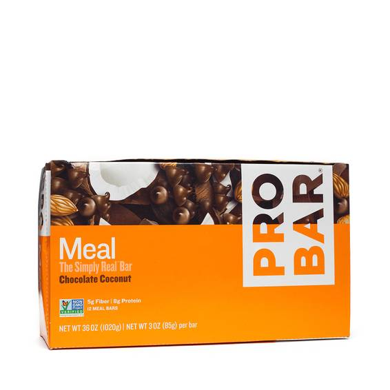 Chocolate Coconut Meal Bars