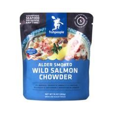 Alder Smoked Wild Salmon Chowder