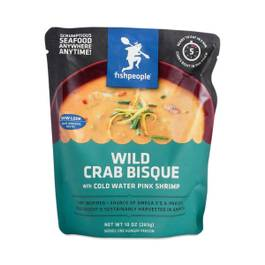 Wild Crab & Pink Shrimp Bisque