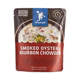 Smoked Oyster Bourbon Chowder