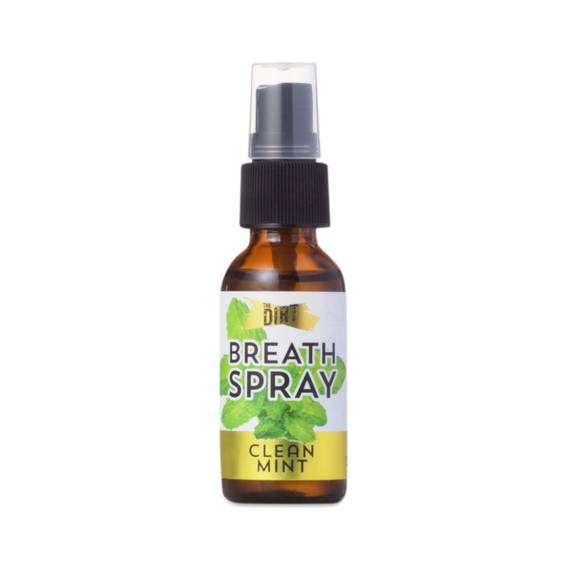 1 Oz Mint Breath Spray Alcohol Free By The Dirt Thrive
