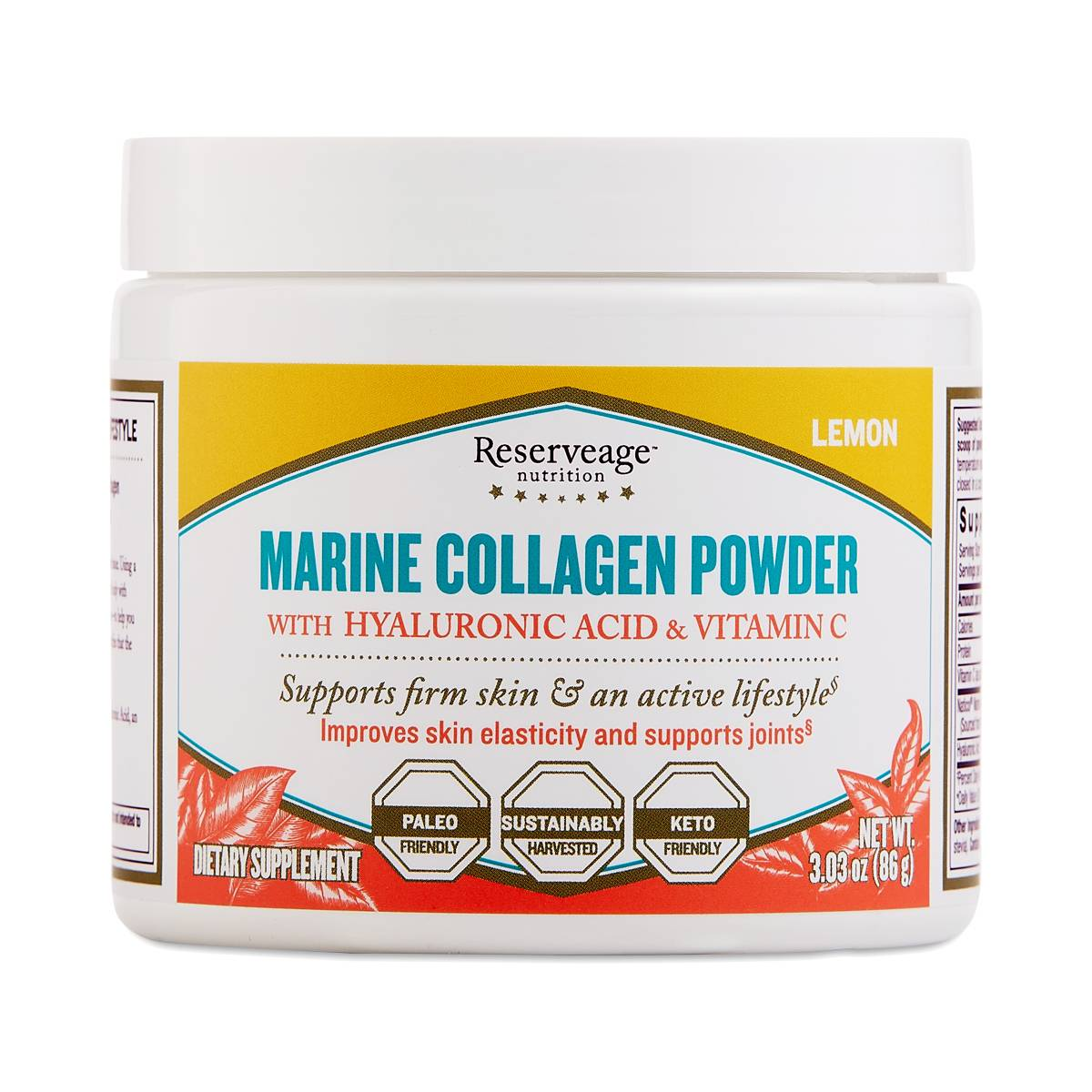 Freshwater Collagen Powder By Reserveage Thrive Market