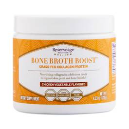 Bone Broth Boost™ Grass Fed Collagen Protein Powder - Chicken Vegetable