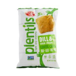 Plentils Dill & Sour Cream Lentil Chips