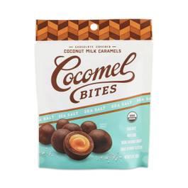 Sea Salt Chocolate Covered Coconut Milk Caramel Bites