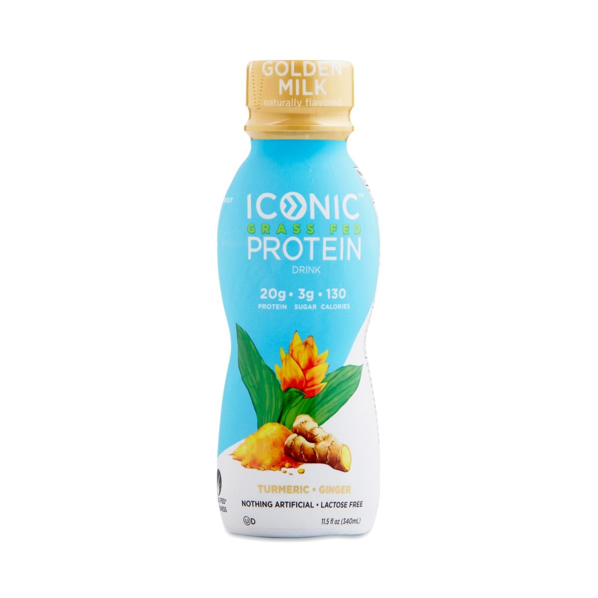 Iconic Protein Golden Milk Grass-Fed Protein Drink - Thrive Market
