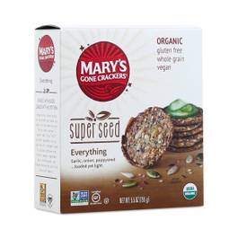 Organic Super Seed Crackers - Everything