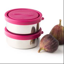 Small Round Containers, Magenta
