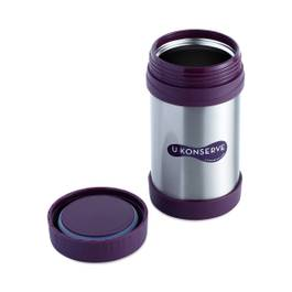 Insulated Food Jar, Eggplant