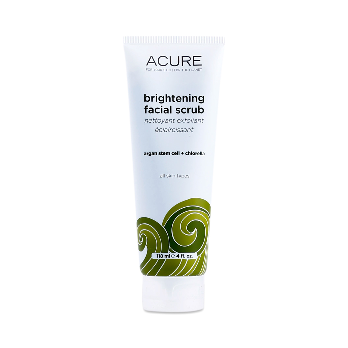 Brightening Facial Scrub By Acure Organics