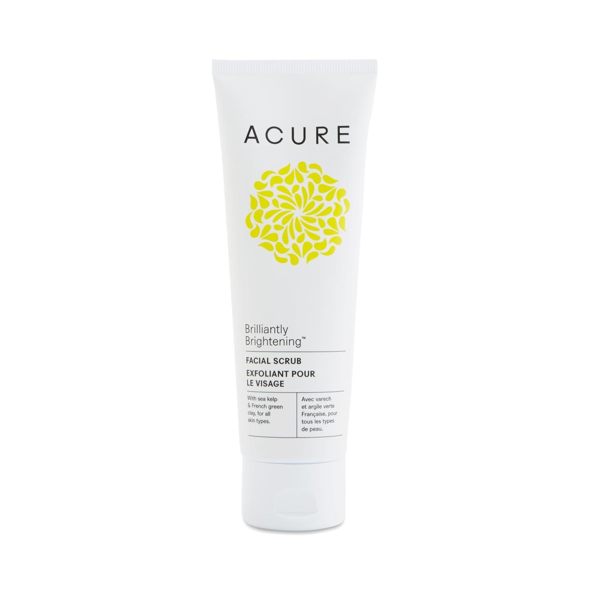 Brightening Facial Scrub By Acure Organics