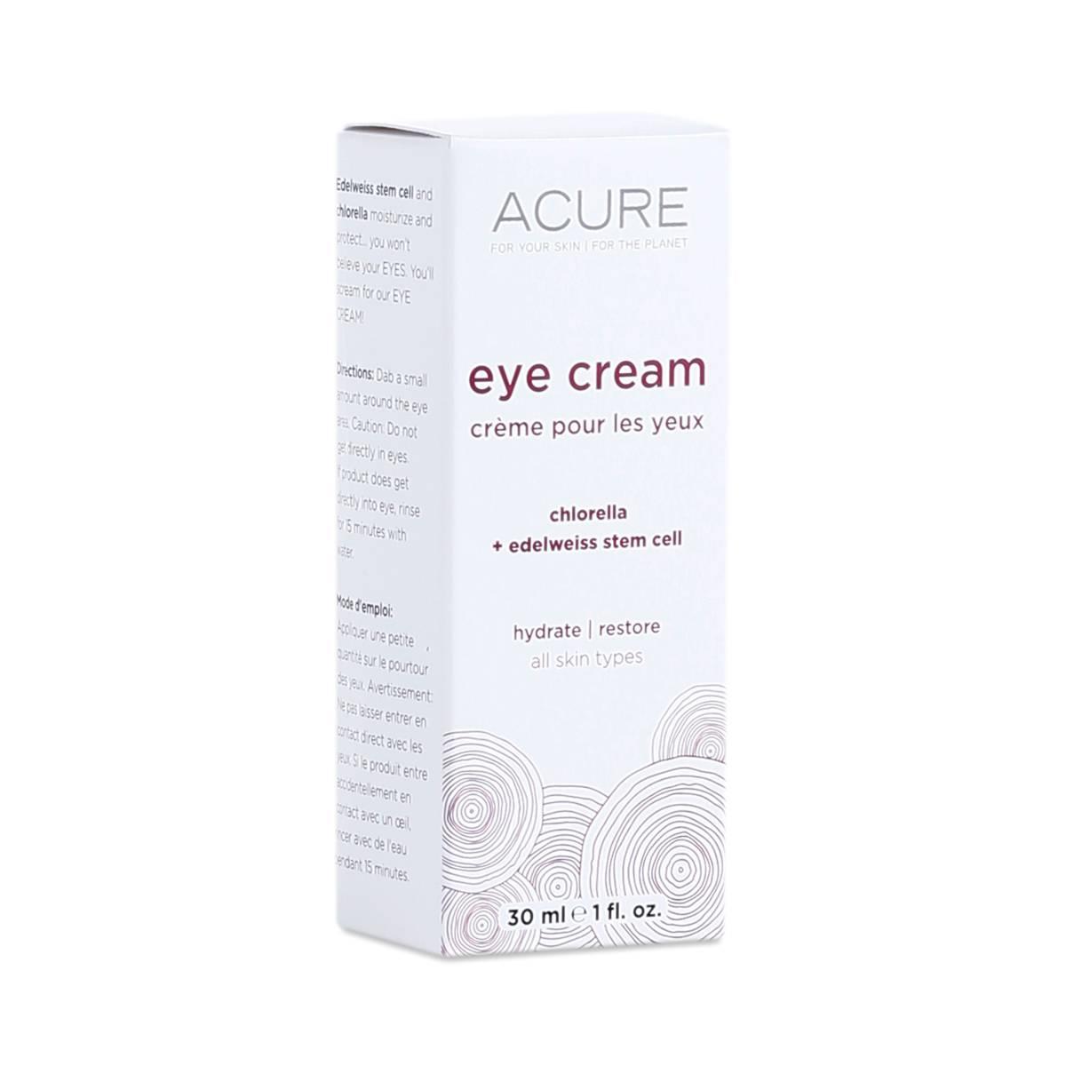 Eye Cream By Acure Organics