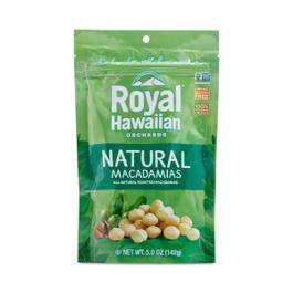 Natural Roasted Macadamia Nuts, Unsalted