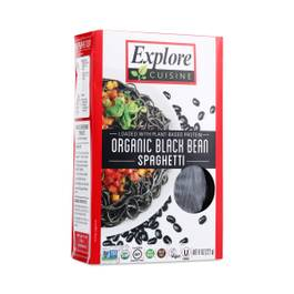 Organic Black Bean Pasta - Spaghetti Shape