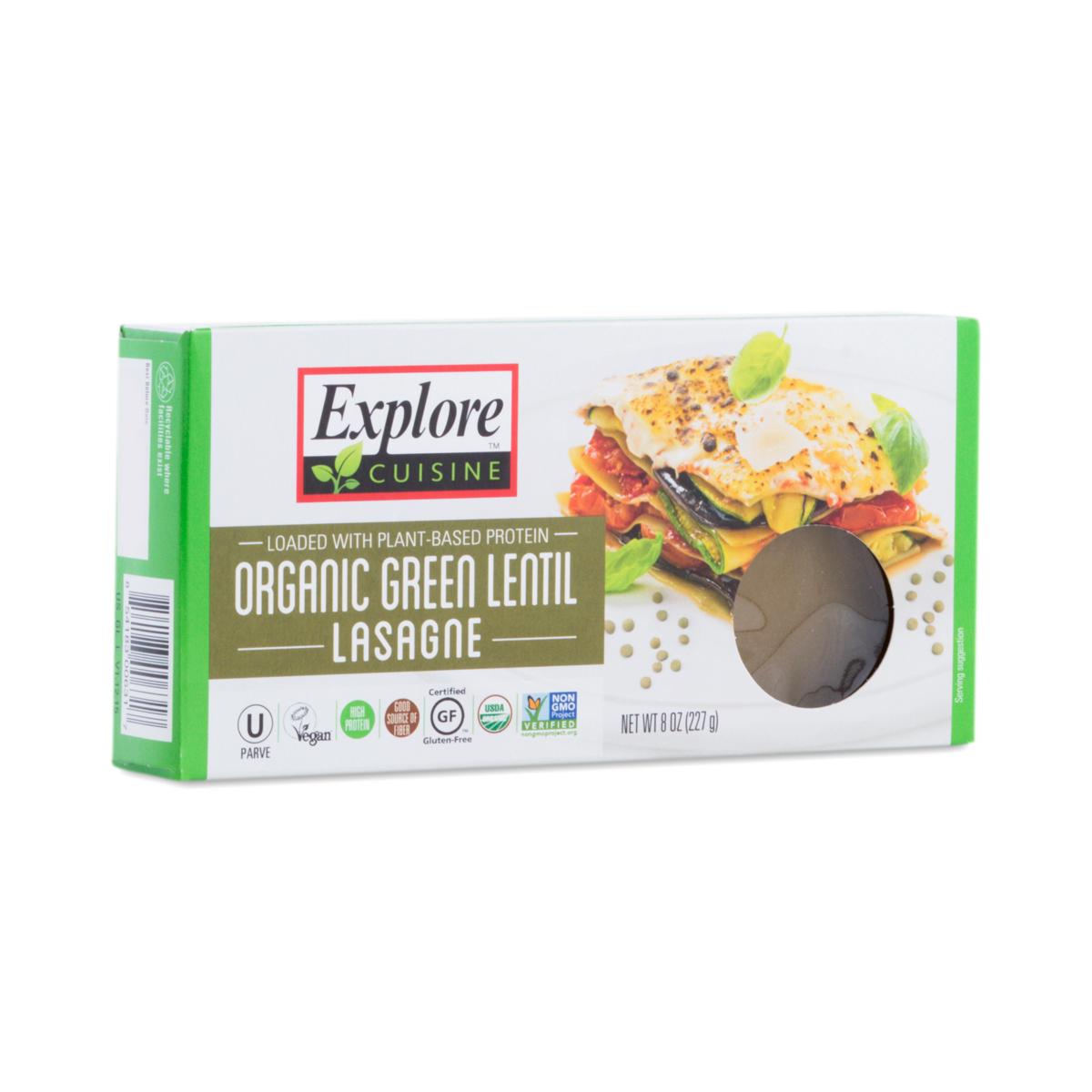 Organic Green Lentil Lasagna By Explore Cuisine Thrive Market