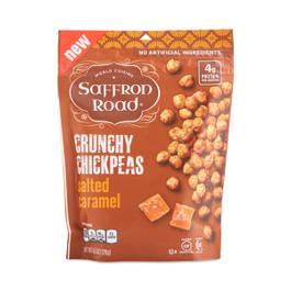 Salted Caramel Crunchy Chickpeas