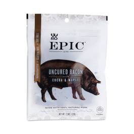Uncured Bacon with Cocoa & Maple Bites