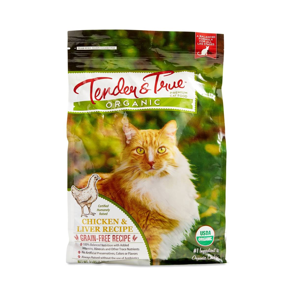 Cat Food With Meat As First Ingredient