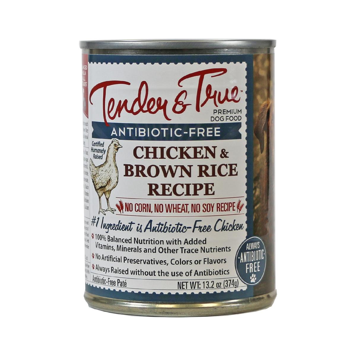 Chicken brown rice wet dog food by tender true thrive market forumfinder Images