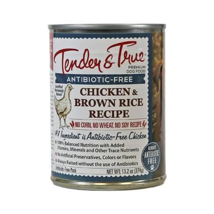 Chicken brown rice wet dog food by tender true thrive market chicken brown rice wet dog food forumfinder Gallery
