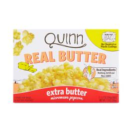 Real Butter Extra Butter Microwave Popcorn
