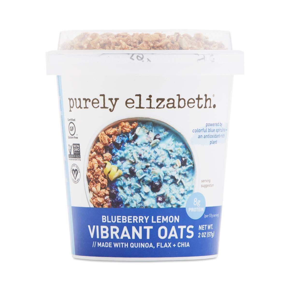 Purely Elizabeth Vibrant Oats Cup, Blueberry Lemon - Thrive Market
