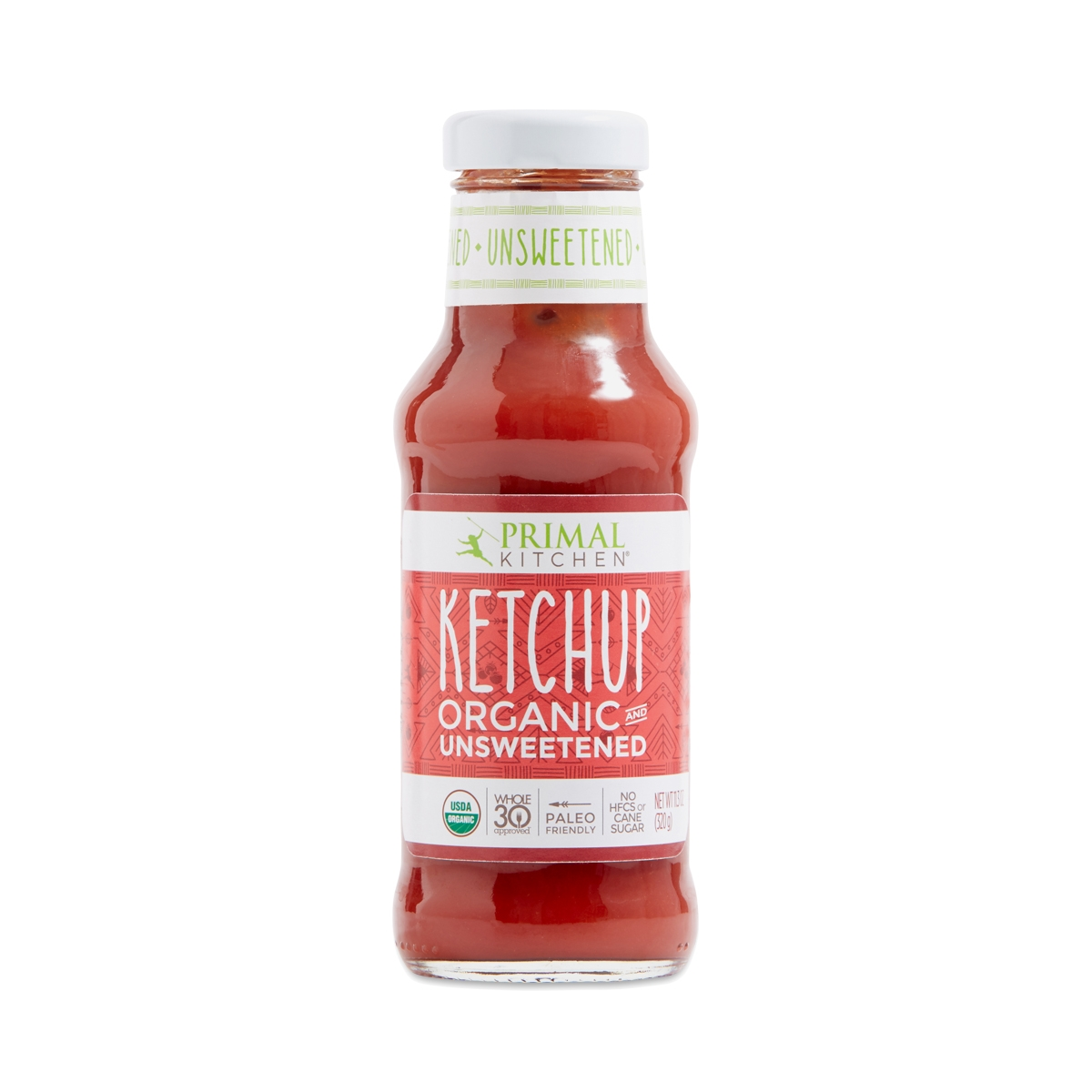 Keto Meatloaf Minis - Primal Kitchen Organic Unsweetened Ketchup 11 oz bottle