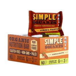 Organic Nutrition Bar, Cinna-Clove
