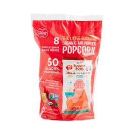 Organic Himalayan Pink Salt Popcorn, Snack Size