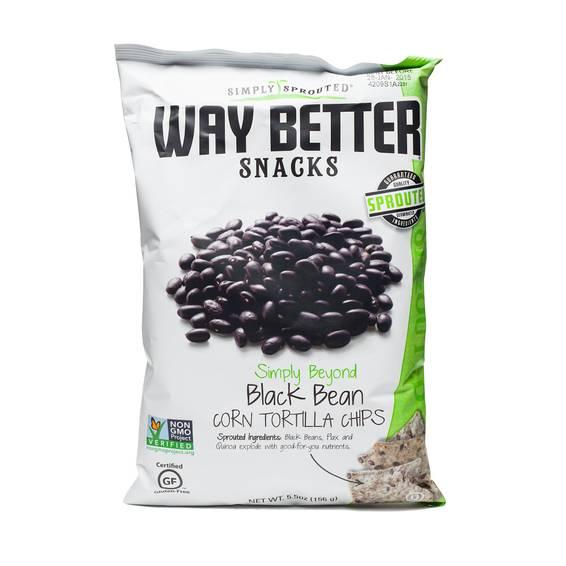 Simply Beyond Black Bean Corn Tortilla Chips